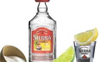 Как отличить оригинальную текилу Sierra (Сиера) Silver и Reposado от подделки?