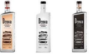Как отличить оригинал водки «Дрова» (Drova) от подделки?