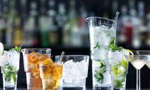 Коктейльный бокал (коктейльная рюмка или мартинка): описание с фото