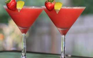 Алкогольный коктейль «Клубничная маргарита»: рецепт с фото