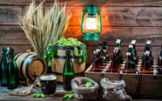 Как правильно хранить пиво