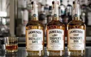 Виски Джемесон (Jameson). Виды Джемесон