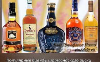 Шотландский виски (Скотч). Виды шотландского виски