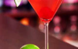 Алкогольный коктейль «Японский космополитен»: рецепт с фото