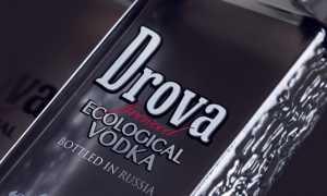 Водка «Дрова» (DROVA), виды
