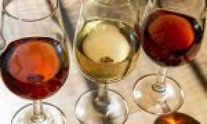 Из чего и с чем пить херес