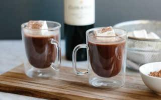 Алкогольный коктейль «Горячий шоколад с вином»: рецепт с фото
