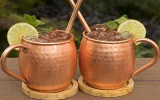 Алкогольный коктейль «Московский мул» (Moscow mule): рецепт с фото