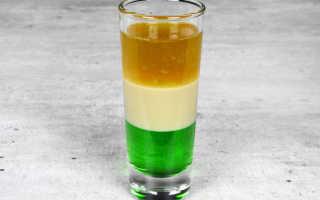 Алкогольный коктейль «Зелёный ирландец (Green Irish): рецепт с фото