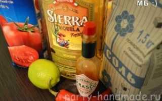 Алкогольный коктейль «Кровавая Хуанита»: рецепт с фото