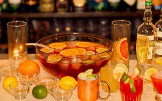 Алкогольный коктейль «Бренди Пунш»: рецепт с фото