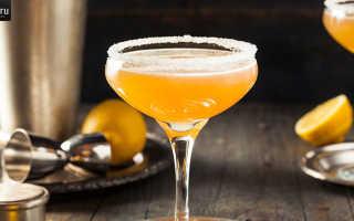 Алкогольный коктейль «Сайдкар»: рецепт с фото