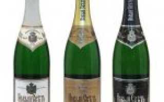 Элитное сортовое шампанское «Новый Свет», виды