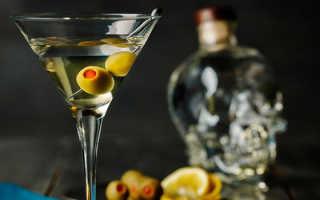 Алкогольный коктейль «Мартини Драй»: рецепт с фото