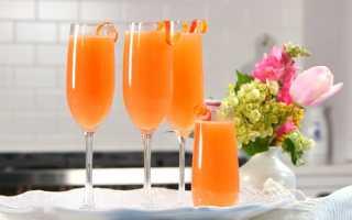 Алкогольный коктейль «Мимоза»: рецепт с фото