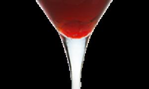 Алкогольный коктейль «Розе клюква»: рецепт с фото