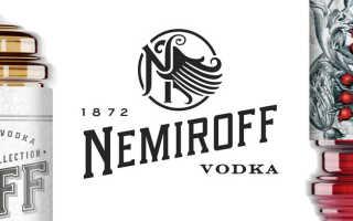 Водка NEMIROFF (Немирофф), виды NEMIROFF