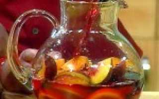Алкогольный коктейль «Сангрия»: рецепт с фото