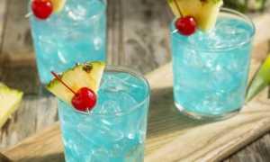 Алкогольный коктейль «Голубые Гавайи»: рецепт с фото