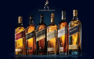 Виски Johnnie Walker (Джони Уокер), виды
