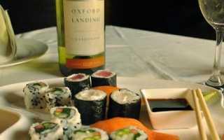 Какой алкоголь подходит под суши?