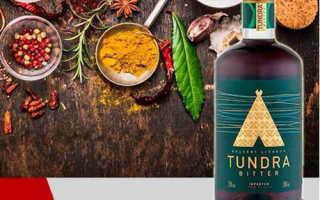 Десертный ликёр «TUNDRA BITTER» (Тундра Биттер)