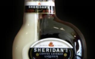 Рецепт ликёра Шеридан (Sheridans), как самому сделать Шеридан
