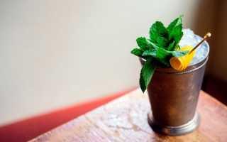 Алкогольный коктейль «Мятный джулеп»: рецепт с фото