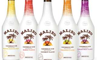 Как правильно пить ликёр «Малибу» (Malibu)