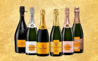 Шампанское Вдова Клико (Veuve Clicquot), виды шампанского Вдова Клико