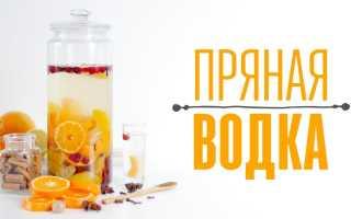 Рецепт алкогольной настойки «Пряная водка с клюквой»