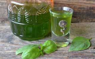 Рецепт домашнего базиликового ликёра