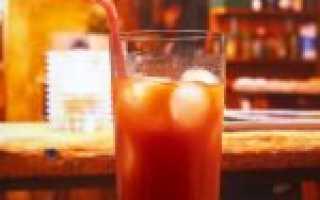 Алкогольный коктейль «Кровавая Мэри» (Bloody Mary): рецепт с фото