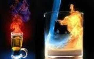 Пивной коктейль «Горящий егерь»: рецепт с фото