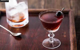 Алкогольный коктейль «Роб Рой»: рецепт с фото