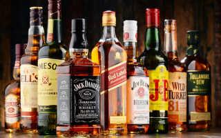 Виски. Виды виски